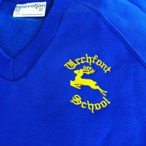 Urchfont V-Neck Sweatshirt