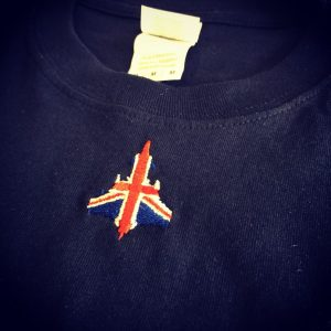 Union Jack Typhoon T-Shirt