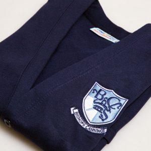 Navy Sweat Cardigan – Senior Sizes