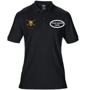 Army Polo – Choose Your Badge