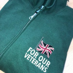 For Our Veterans Zip Hoodie