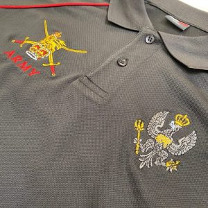 "Army v Navy – Ladies ""Army"" Sports Polo Shirt"