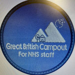 Great British Campout Badges