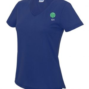 DTC Ladies V-Neck Performance T-Shirt