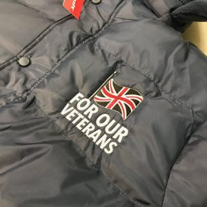 For Our Veterans Padded Jacket