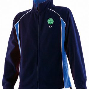 DTC Men's Contrast Micro Fleece Jacket