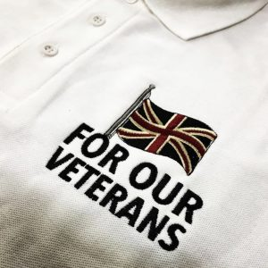 For Our Veterans Polo Shirts