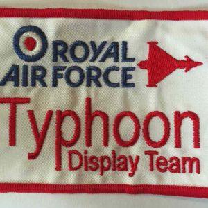 RAF Typhoon Display Team Badge
