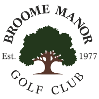 broome manor golf club logo